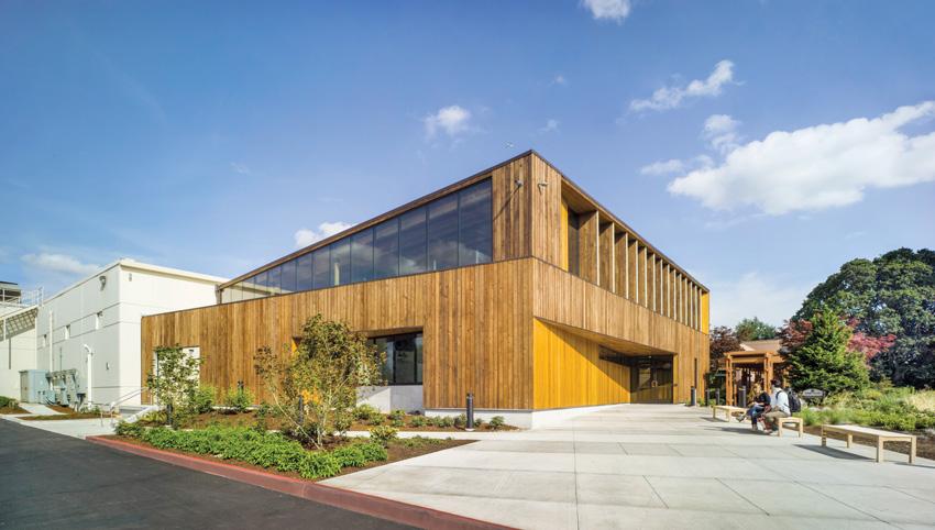 Photo of the Diamond Foods Innovation Center.
