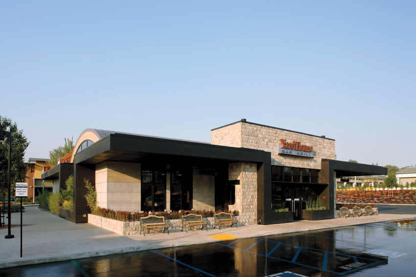 Exterior photo of Yard House Bar and Grill.