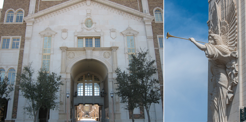 Custom hand-carved limestone is available to produce unique, three-dimensional elements that are permanent parts of an overall building, such as the Texas Tech English and Philosophy Building.