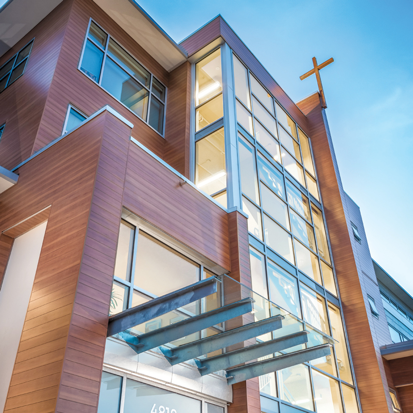 Photo of the John Paul II Pastoral Centre's Campus of Care in Vancouver.