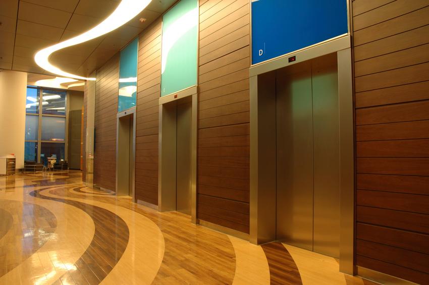 Photo of a hospital interior.