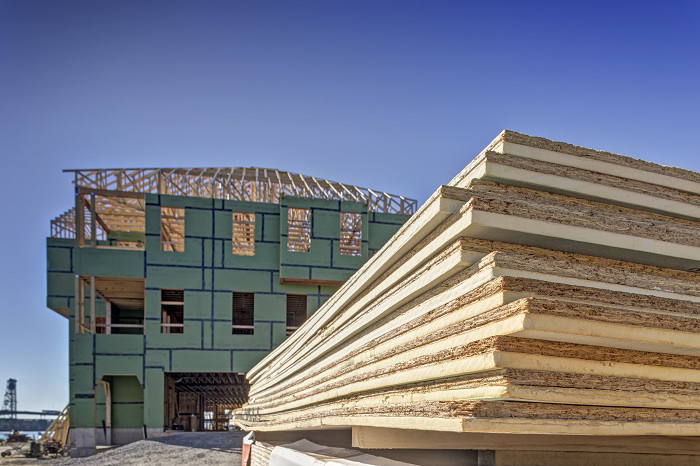Ce center designing with continuous insulation for for Exterior wall sheeting