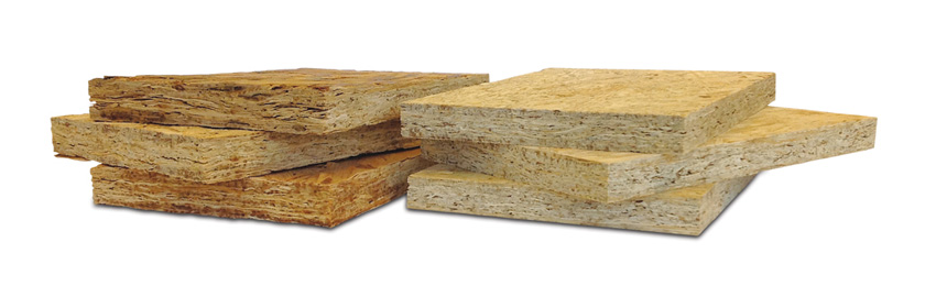 Photo of various wood samples.