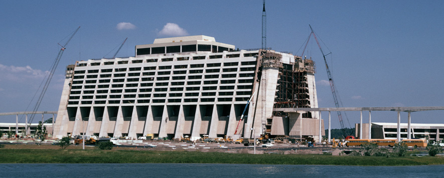 Photo of the Contemporary Resort.