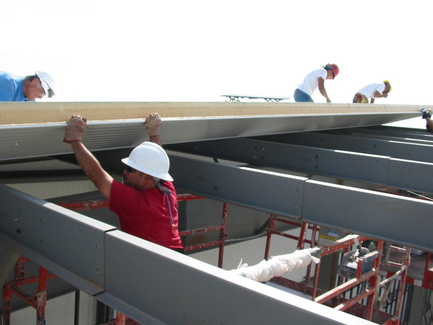 CE Center - Insulated Metal Panels On the Roof
