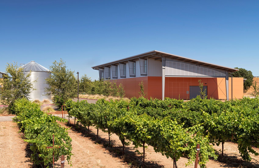 Jess S. Jackson Sustainable Winery Building.