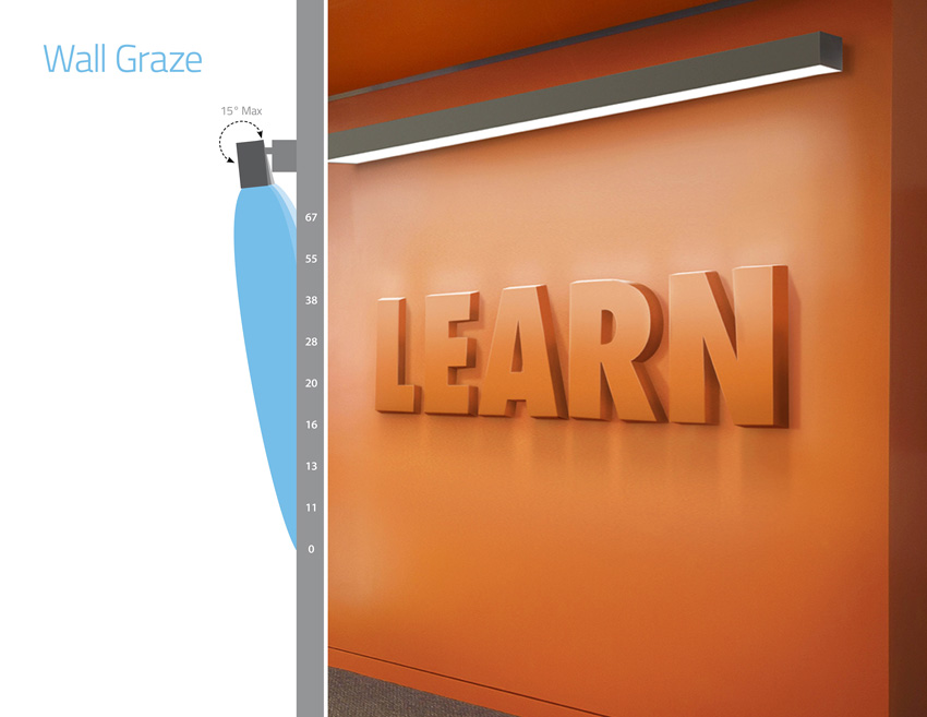 Led Wall Grazing Fixtures : CE CENTER - Linear Lighting Frenzy