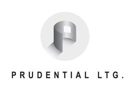 Prudential Lighting logo.