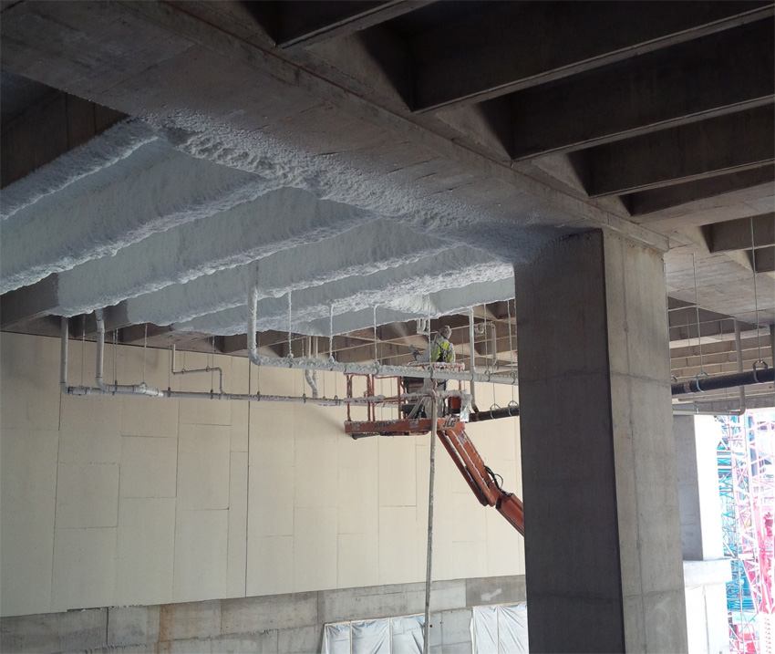 CE Center - Spray-Applied Glass Fiber Insulation