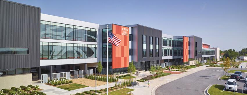 Joplin, Missouri's new 3,000-student high school.