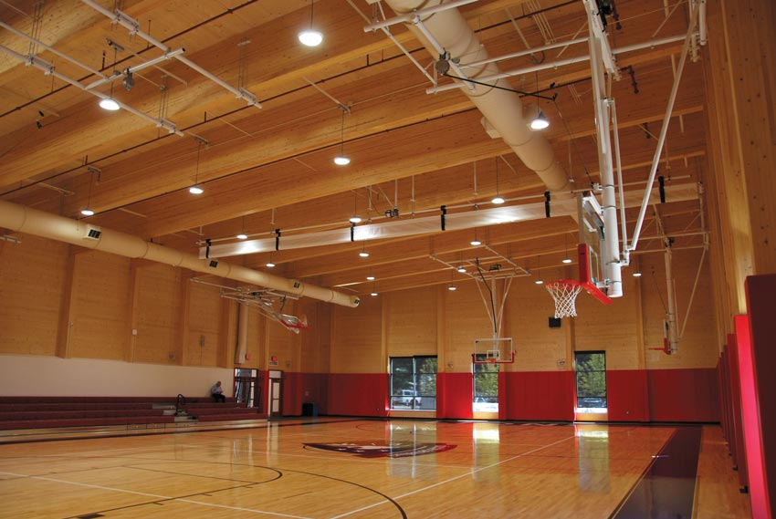 Interior photo of Washington Latin Public Charter School.