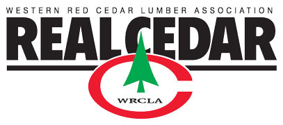 Western Red Cedar Lumbar Association logo.