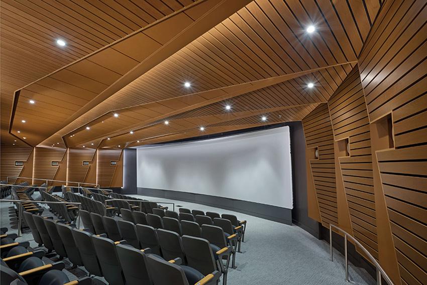 Auditorium interior.