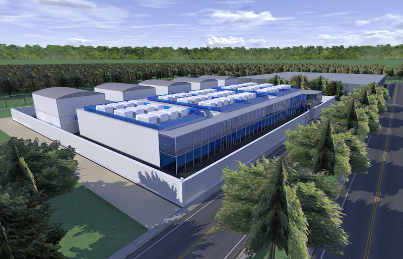 picture of customized data centers