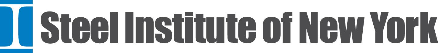 Steel Institute of New York logo.