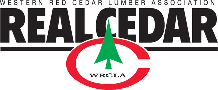 Western Red Cedar Lumber Association logo.