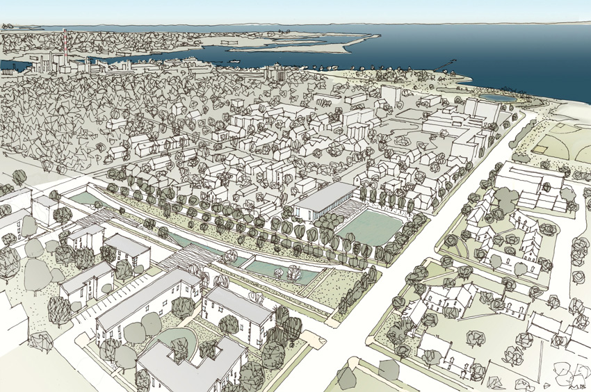 Photo of new Plan for Bridgeport, Conneticut.