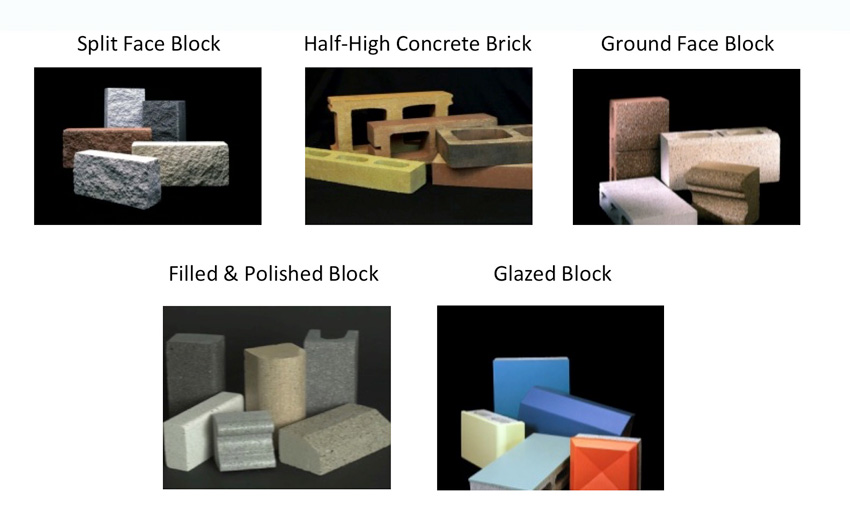 types of masonry