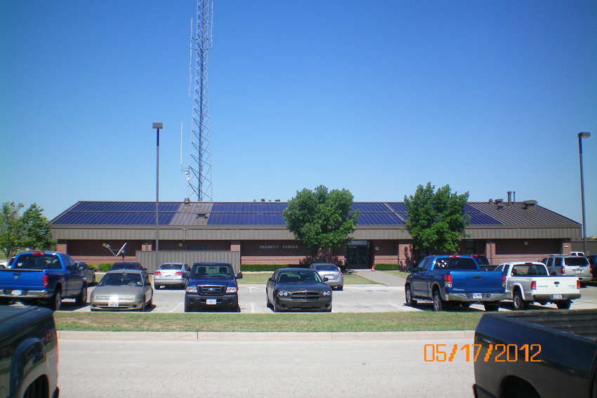 Photo of San Angelo, Texas' Goodfellow Air Force Base.
