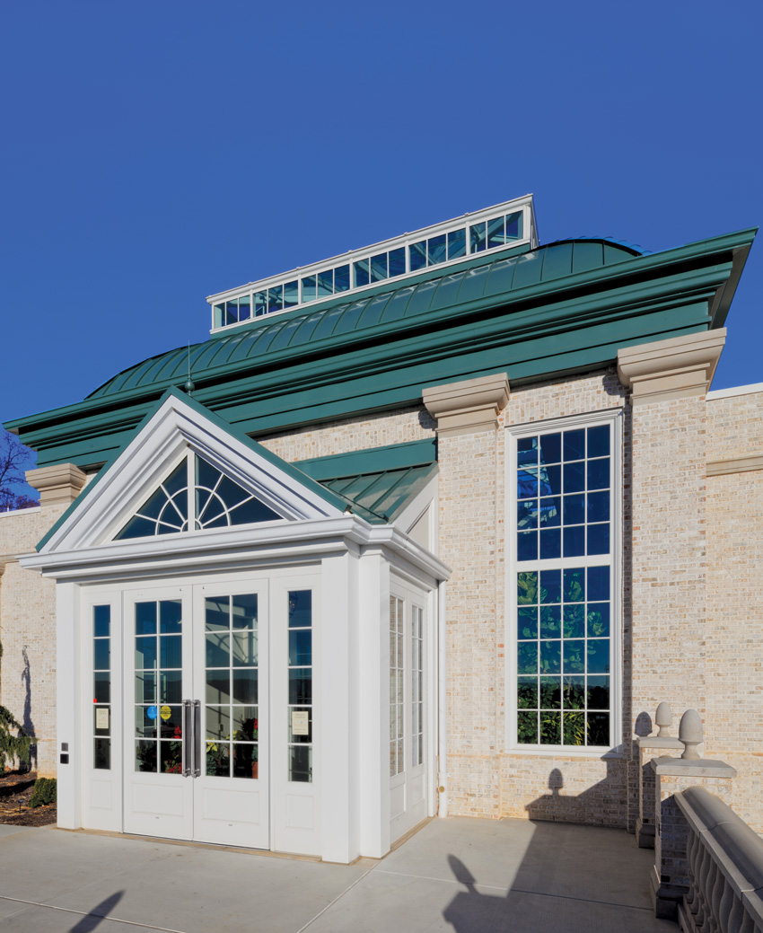 Photo of the Welcome Pavilion at Hershey Gardens in Hershey, Pennsylvania
