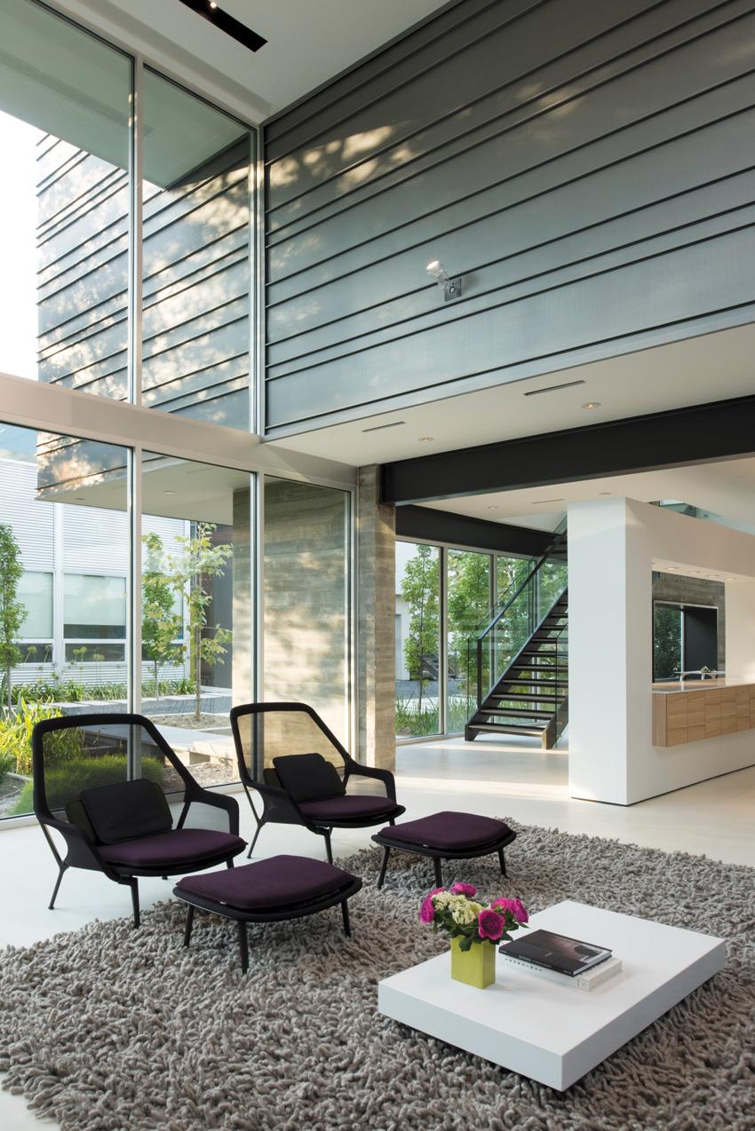 Photo of Tripartite House in Houston.