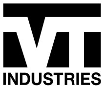 VT Industries logo.