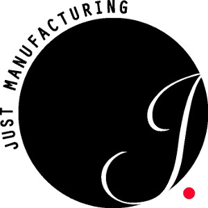 Just Manufacturing logo.