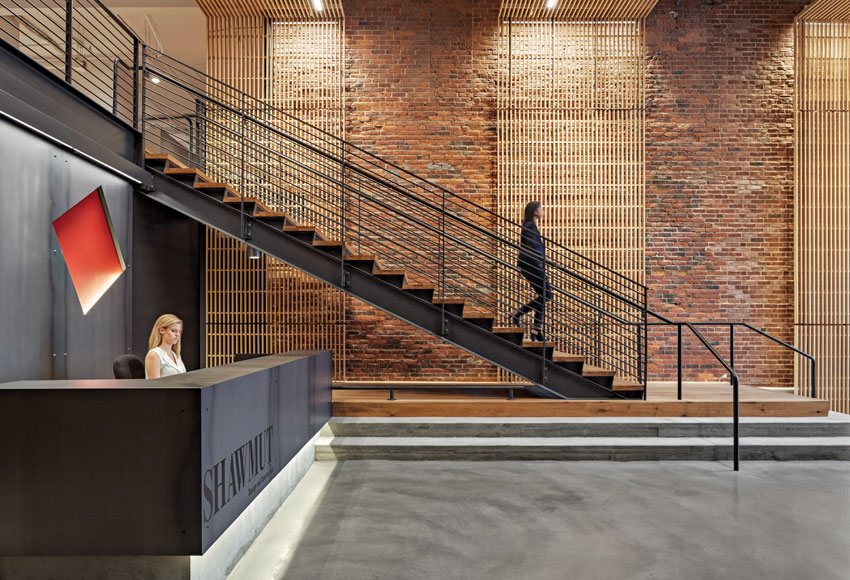 Shawmut Design + Construction's Boston headquarters