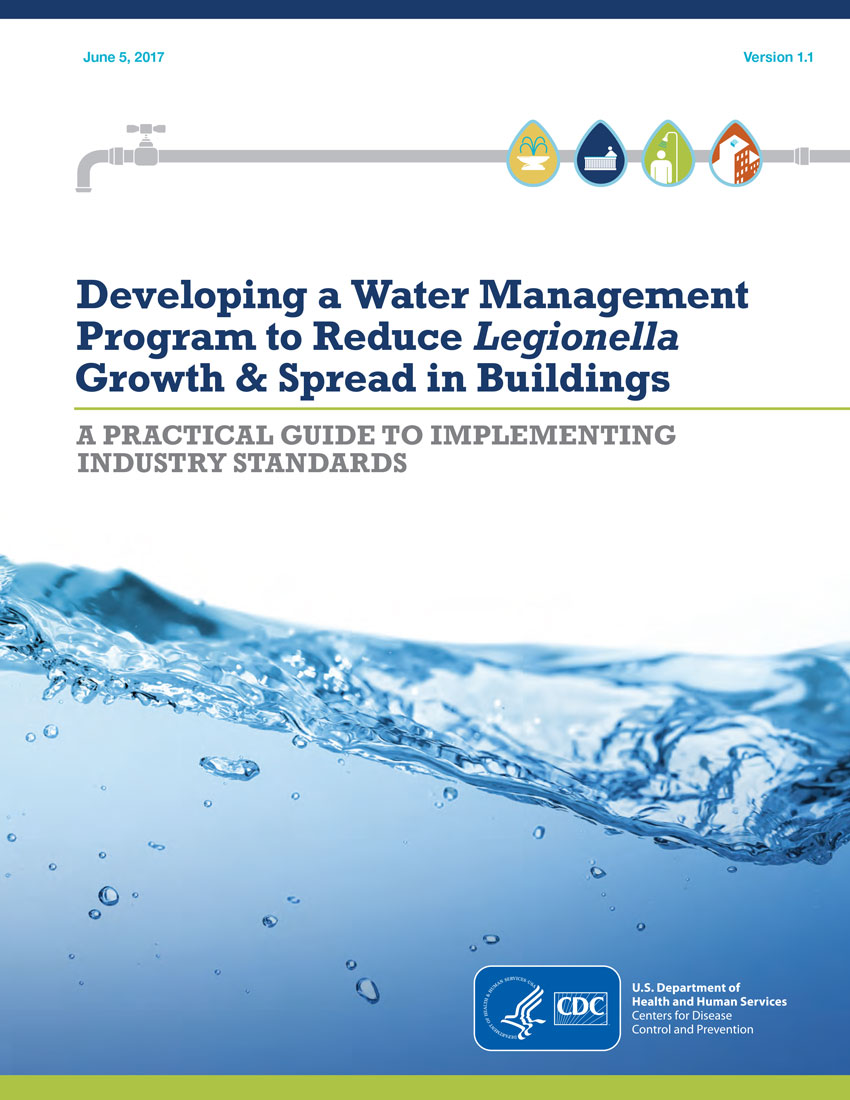 Center for Disease Control water management toolkit