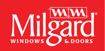 Milgard Windows & Doors logo.