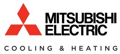 Mitsubishi Electric Cooling & Heating logo.