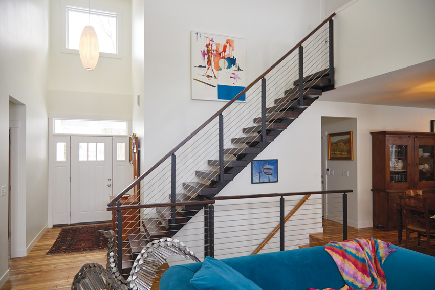 The Anatomy Of A Floating Staircase