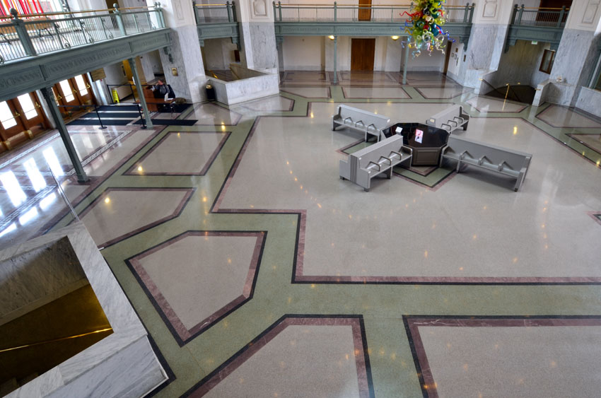 Ce Center Resilient And Sustainable Terrazzo Flooring