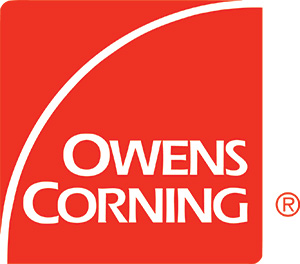 Owens Corning logo.