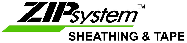 ZIPSystem Sheathing and Tape logo.