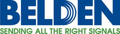 Belden logo.