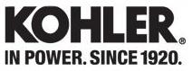 Kohler logo.