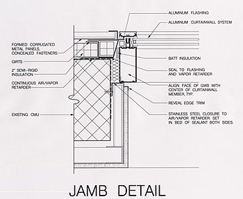 Curtain Wall Jamb Detail Decorate The House With