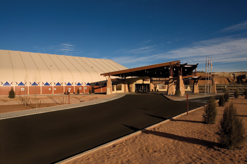 New Mexico tensioned membrane casino.