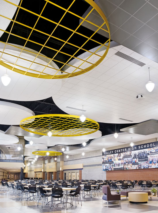 Architects and designers can control the visual appearance of ceilings and achieve excellent acoustic performance by understanding the many options available.