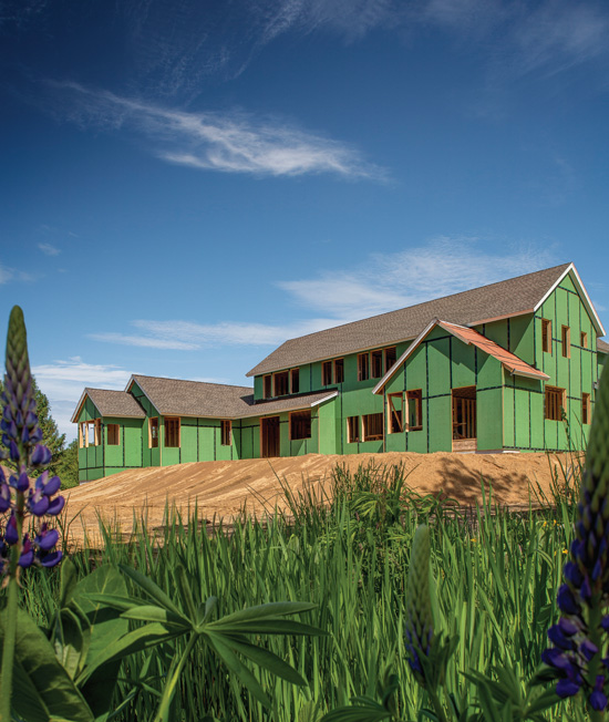 Wood-framed construction has been and continues to be a popular construction choice for single-family, multi-family and light commercial buildings. Codes continue to evolve to address structural performance, moisture, air, and thermal management in the critical exterior wall assembly area.