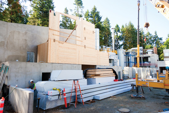Once delivered to the construction site, wood should be stored and wrapped properly.