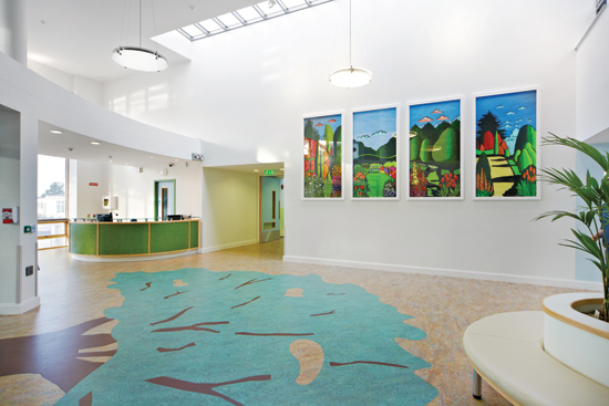 Selecting building products for education facilities that do not contain harmful chemical compounds or require extensive cleaning, helps create healthier indoor learning environments.