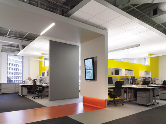 For workers to be most effective, open workspaces should accommodate needs for both collaborative and focused activities.
