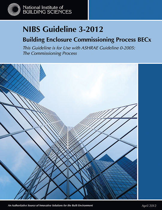 The National Institute of Building Sciences (NIBS) Guideline for the Building Enclosure Commissioning Process (BECx) is a free resource for anyone interested in better performing building enclosures.