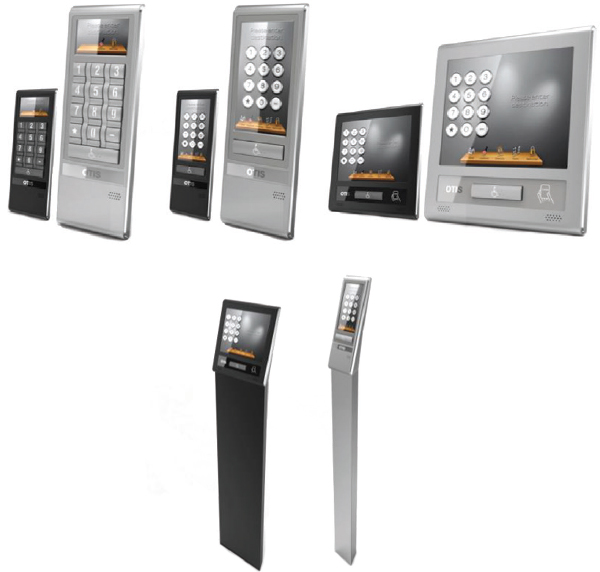 Typical DD system passenger input devices can be customized. These include keypads, touchpads, and touch screens and can be surface or pedestal mounted.