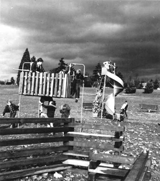 While the concepts remain similar—providing a place for fun outdoor activity—playgrounds over the century have become more varied, interesting, inclusive, accessible, and safe.