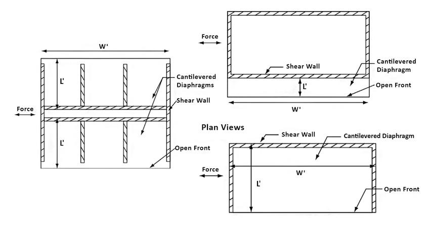 Floor plan of the former metal shop.