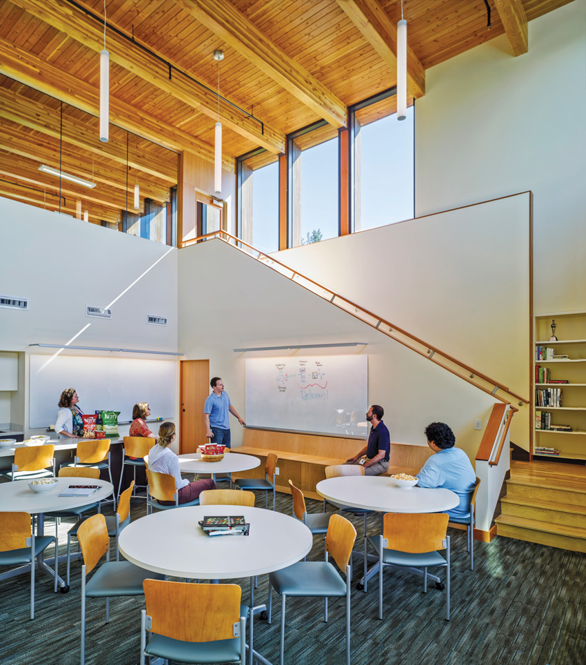 Another interior photo of the Innovation Center.