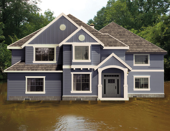 Extreme weather conditions, such as flooding, can cause significant problems for buildings unless they are designed and constructed to withstand them.